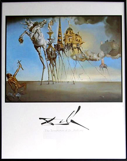 Salvador Dali - The Temptation of st. Anthony - 1022 - 56/71HPLN P 010