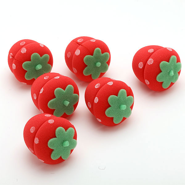 Magic sunđerasti vikleri Strawberry Sponge Curlers VKST001