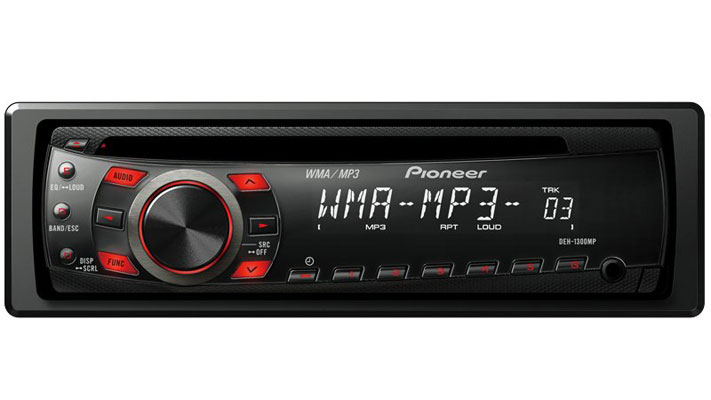 Pioneer auto player DEH-1300MP