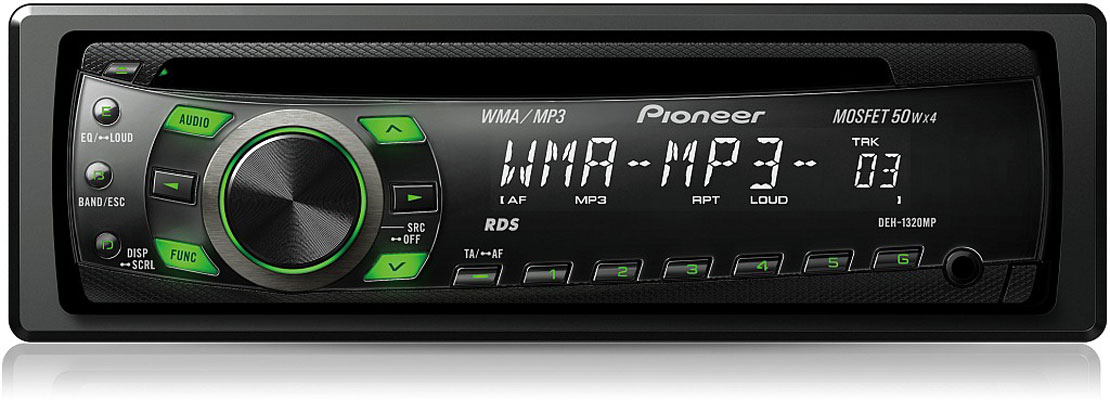 Pioneer auto player DEH-1320MP