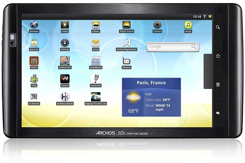 Archos 101 Android Internet Tablet Računar - 16 GB - 10.1 in