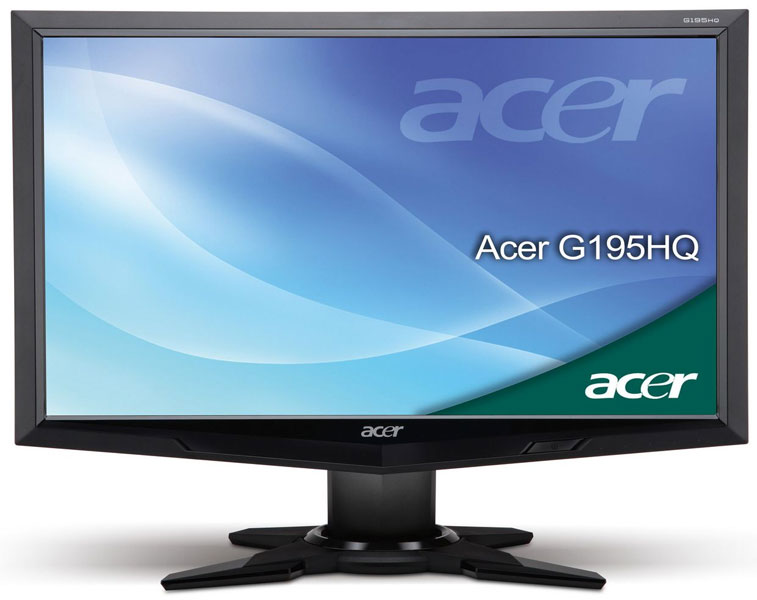 Acer LCD monitor 18.5 inča Wide G195HQVb