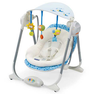 Chicco Ljuljaška za bebe Polly Swing Sea Dreams 6769180 - Kliknite na