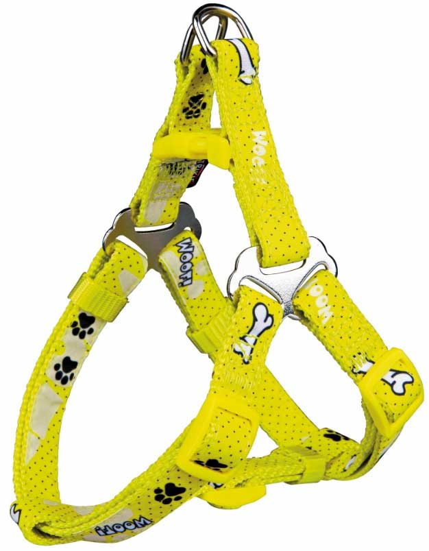Am za pse vel. XXS-XS Modern Art One Touch Woof yellow Trixie 15200