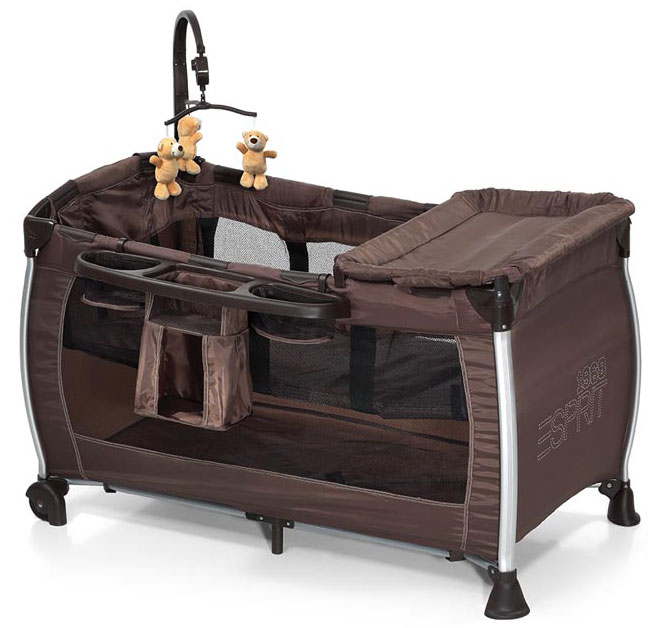 Esprit prenosivi krevetac Baby Center Brown 5170049