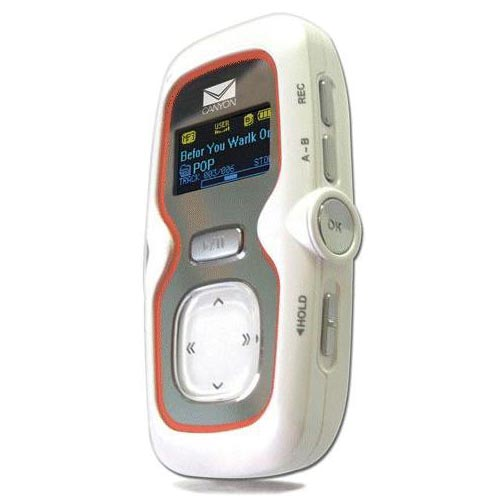 Canyon MP3/WMA Player - Digital Voice Recorder - FM Radio & Recorder - 512MB - CN-MPOLED2E