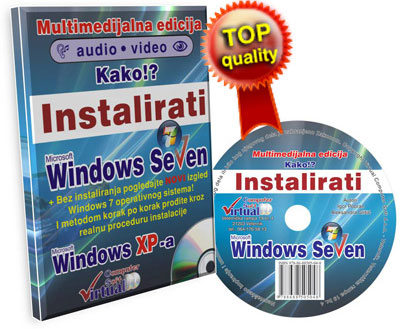 Kako!? Instalirati Windows - multimedijalni kurs