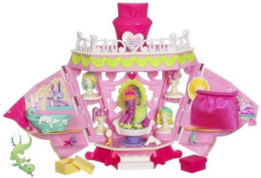 Hasbro My Little Pony Ponyville La-Ti-Da Hair & Spa Salon  E89104