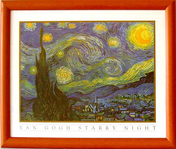 Van Gogh - Starry Night - 1068 - 40/50 E-3 EP 018