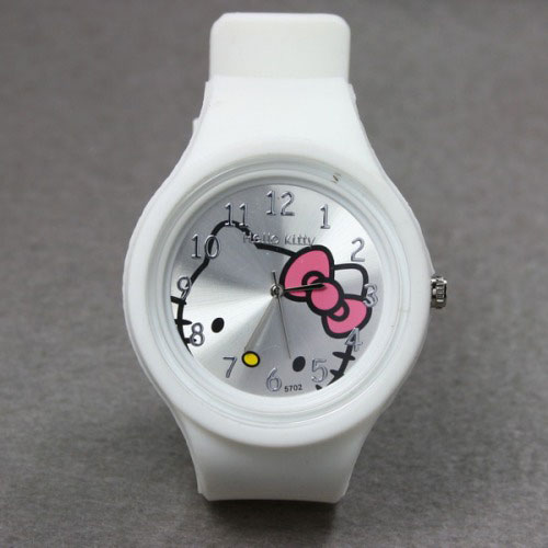Hello Kitty Ručni časovnik 5708 silicone white