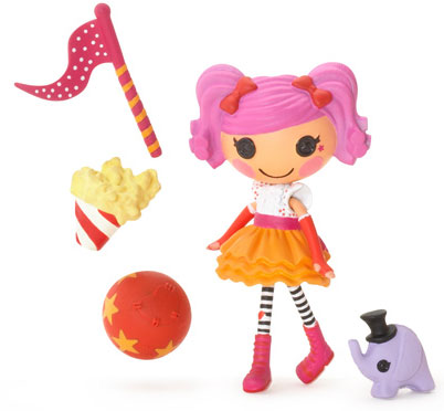 Mini Lalaloopsy™ Lutka Peanut Big Top™ 502296
