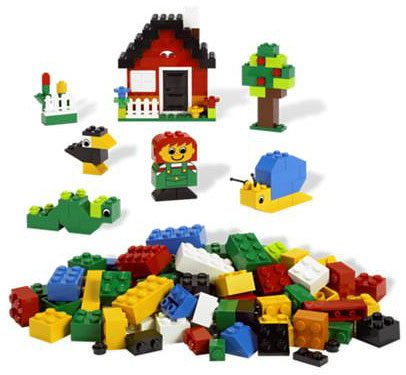 LEGO Bricks and More Kocke - Kutija standardnih kockica LE6161