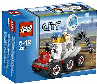 LEGO® City Space Moon Buggy LE3365