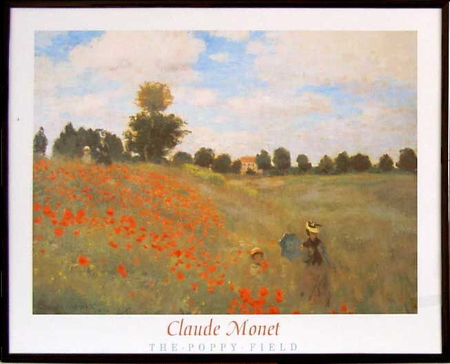 Claude Monet - The Poppy Field - (40/50 HPLN)