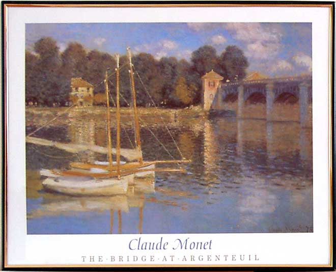 Claude Monet - The Bridge At Argetruil - (40/50 HPLN)
