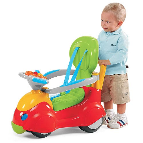Chicco - Sit And Ride 4 in 1 Car - 67068