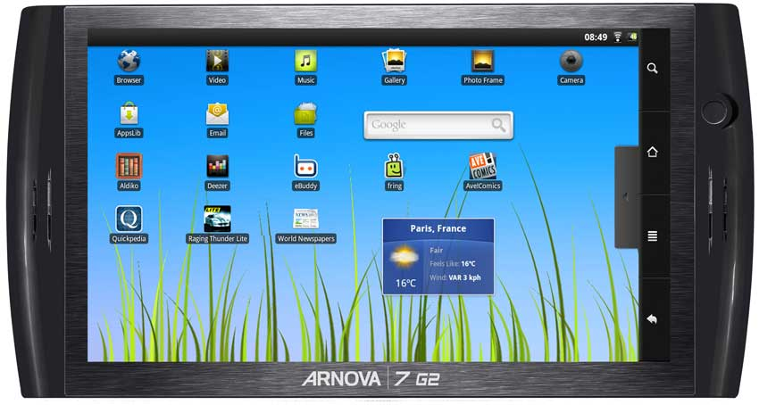 Arnova 7 G2 4 GB Multi Touch Screen Android Tablet Računar HD