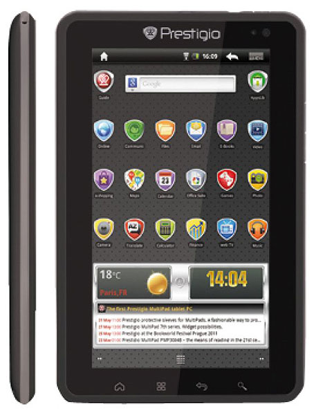Android 3G Tablet Telefon Prestigio PMP7074B3G 7 in 4 GB
