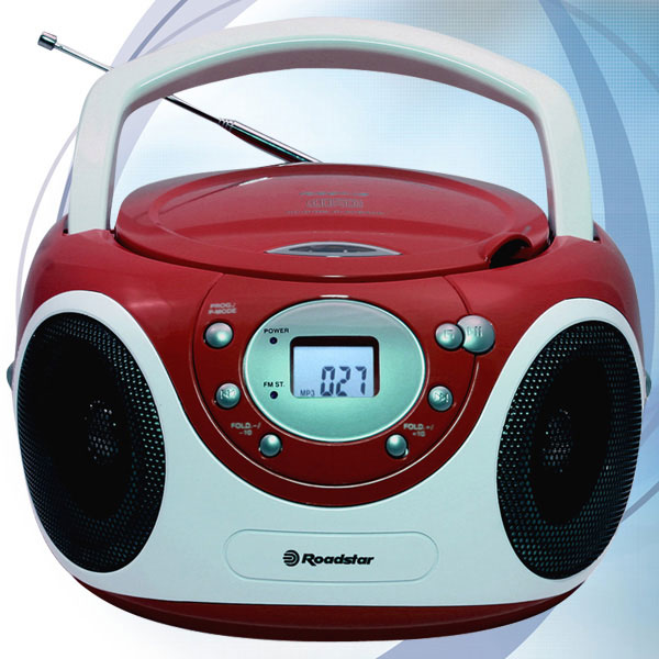 Roadstar prenosni CD/MP3 stereo sistem CDR-4230RD