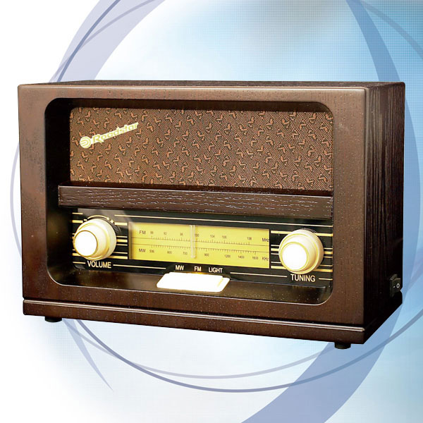 Roadstar retro drveni radio HRA-1520