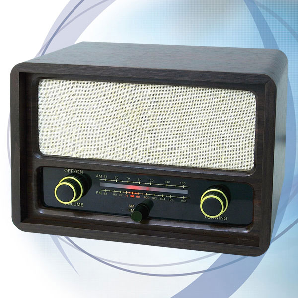 Roadstar retro drveni radio HRA-1410
