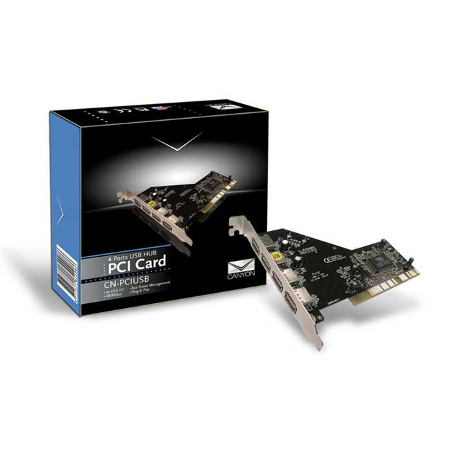 Canyon - PCI USB 2.0 Hub - CN-PCIUSB