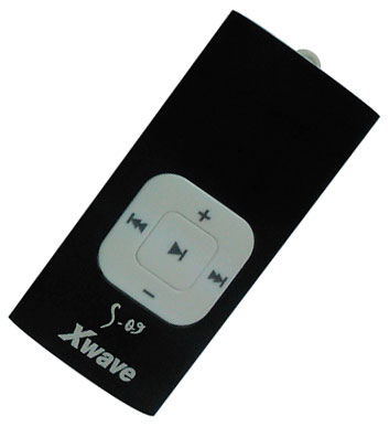 Xwave MP3 player S-09 black 018756