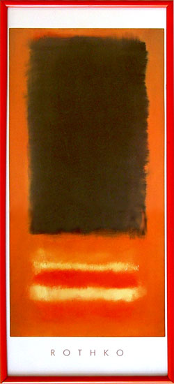 Orange theme - Rothko - W&G - 1125 - (20/50 HPLN R)