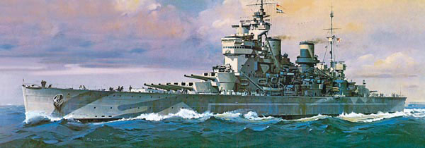 Revell maketa Battleship H.M.S. Duke of York RV05105/120