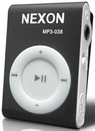 Nexon MP3 plejer MP3-038 BLACK