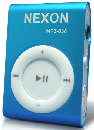 Nexon MP3 plejer MP3-038 BLUE