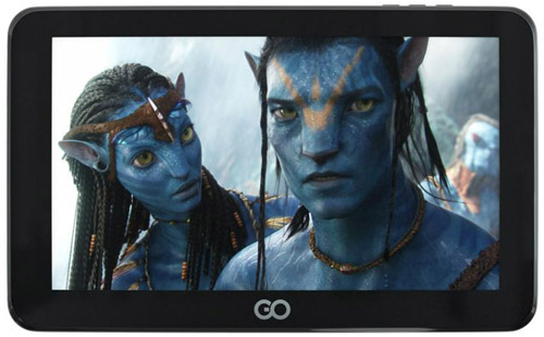 GoClever Android Tablet T72 + GPS + TV