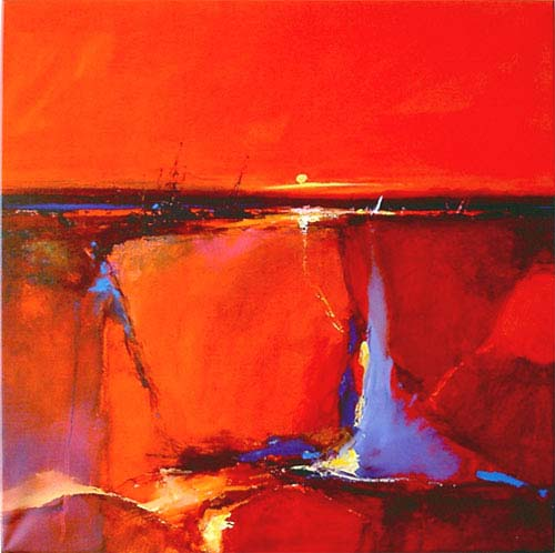 Red Horizon - Peter Wilemans - 1142 - 50/50 CMounted WG