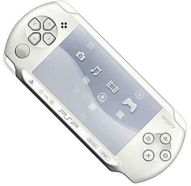 Sony PlayStation Portable - PSP - Base Pack 1004 White