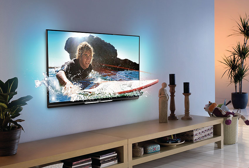 Philips 3D Smart Full HD LED Televizor sa Ambilight Spectra 2 Tehnologijom - 37PFL6007K/12
