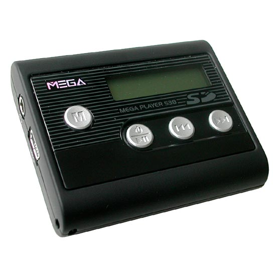 MSI mega player 538 - čitač SD i MMC kartica - MP3 / WMA player