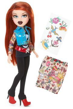 Bratz Lutka Totally Tatoo Meygan 514855