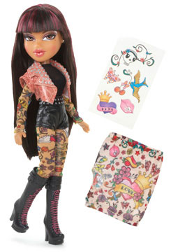 Bratz Lutka Totally Tatoo Yasmin 514855