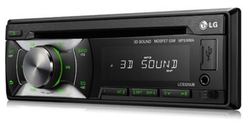 LG Auto Radio CD/MP3 Player LCS320UB