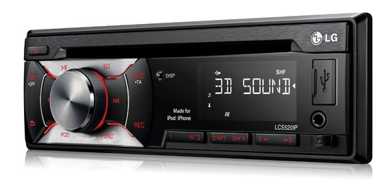 LG Auto Radio CD/MP3 Player LCS520IP