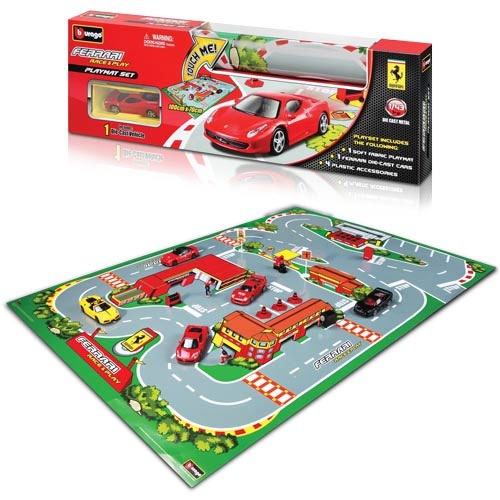 Bburago Ferrari 1:43 Race and Play Mat BU31235