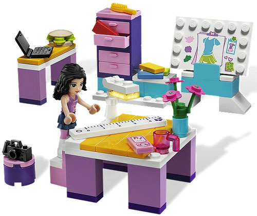 LEGO Friends Ema - Dizajn studio LE3936