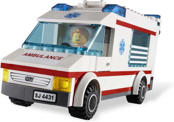 LEGO City Ambulantno Vozilo LE4431