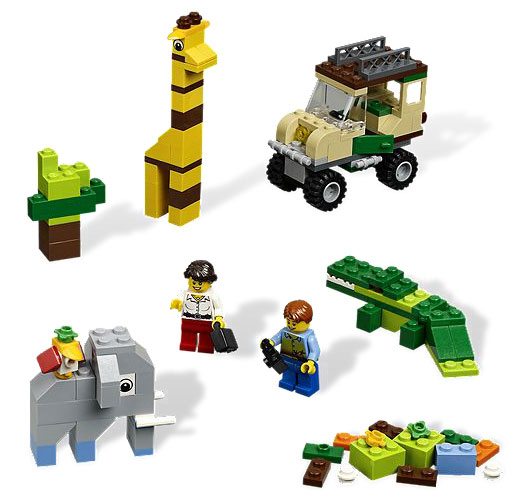 Lego Bricks and More Kocke - Safari Set LE4637