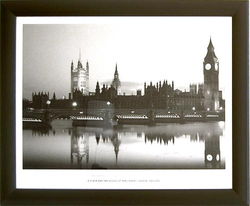 London - Big Ben and Houses of Parliament - 1174 - 40/50 E-3 EP C/B