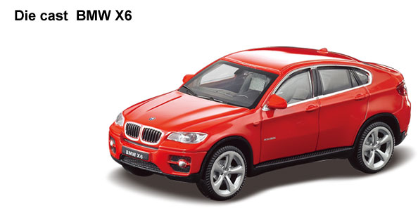 Rastar RC Automobil BMW X6 1:24 6210134