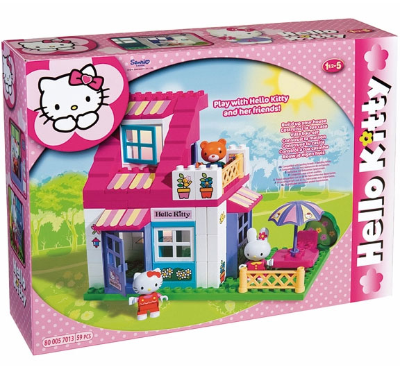 PlayBIG Kocke Hello Kitty Kuća 6030936