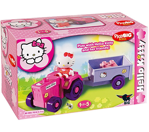 PlayBIG Kocke Hello Kitty Mini Set Traktor 6030937
