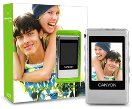 Canyon CNR-MPV18F - MP4 player - 1 GB