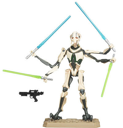 Hasbro Star Wars Filmske Figure General Grievous 36563